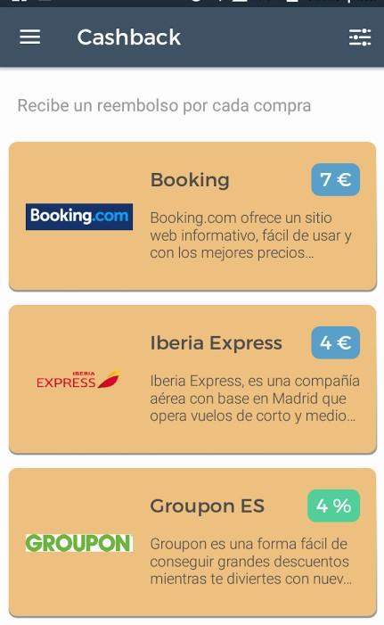 Así luce la app de Consupermiso, que te permite ganar dinero por Internet desde tu móvil, ¿Se ve chula no?