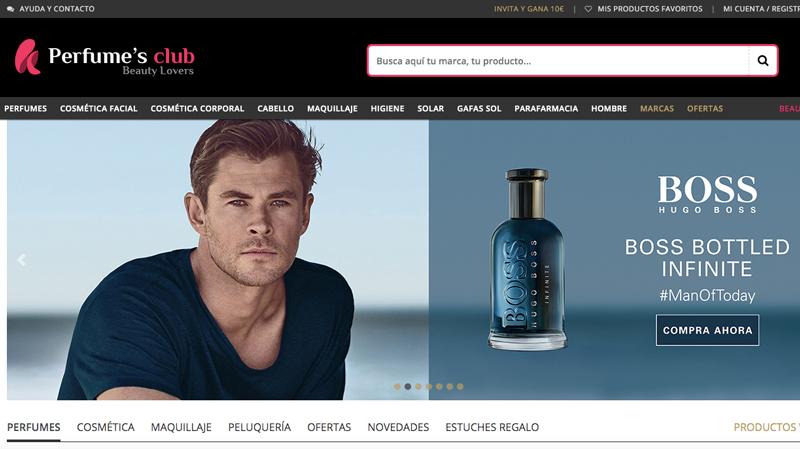 perfumes club: perfumería más barata online