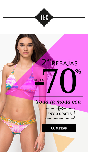 2as Rebajas -70% en toda la moda