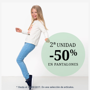 2ª unidad -50% pantalones