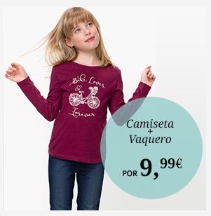 Camiseta + Vaquero